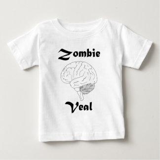 Camiseta Para Bebê Vitela do zombi