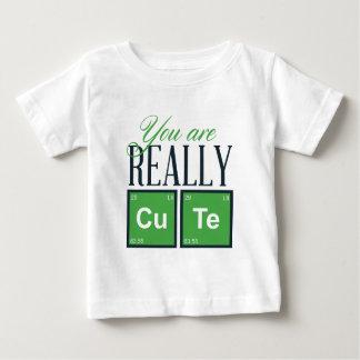 Camiseta Para Bebê você é design realmente bonito, legal