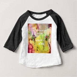 Camiseta Para Bebê Você é sempre comigo mesmo que você não é