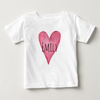 Camiseta Para Bebê Você é t-shirt customizável amado do bebé