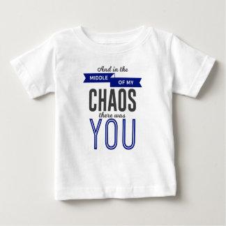 Camiseta Para Bebê Você no caos