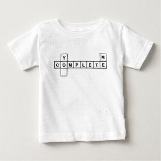 Camiseta Para Bebê Você termina-me
