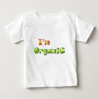 Camiseta Para Bebê Volenissa - eu sou orgânico