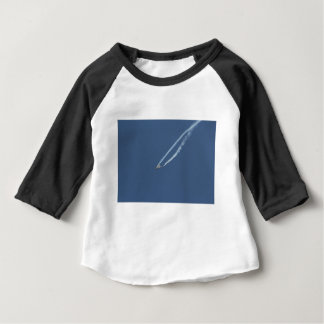 Camiseta Para Bebê Vôo 3 do tufão de Eurofighter