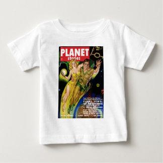 Camiseta Para Bebê Voo durante todo a galáxia