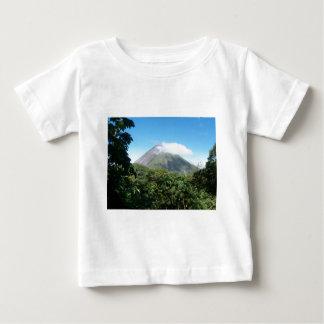 Camiseta Para Bebê vulcão de arenal