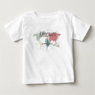 Camiseta Para Bebê Wanderlust