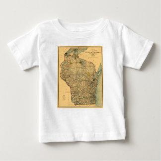 Camiseta Para Bebê wisconsin1896