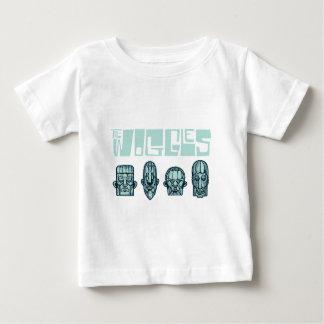 Camiseta Para Bebê wogglestiki3000