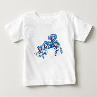 Camiseta Para Bebê wondercrowd-tentáculos