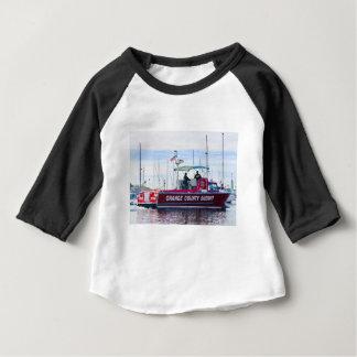 Camiseta Para Bebê Xerife do Condado de Orange