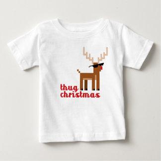 Camiseta Para Bebê Xmas da rena de Rudolph da vida de FunnyThug