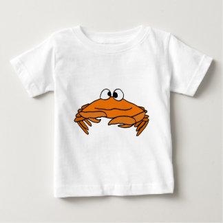 Camiseta Para Bebê XX- caranguejo engraçado