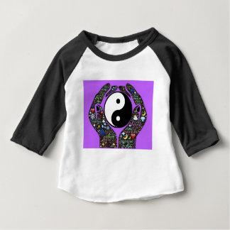 Camiseta Para Bebê Yin, Yang