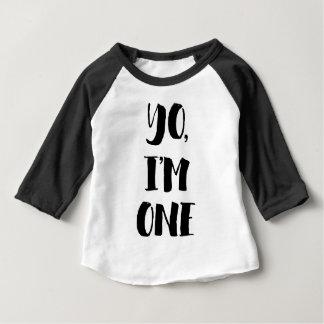 Camiseta Para Bebê Yo, eu sou um