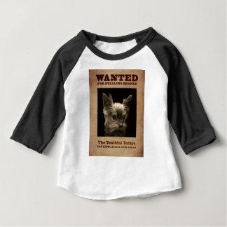 Camiseta Para Bebê Yorkie_ jovem