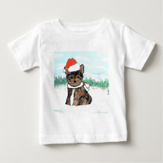 Camiseta Para Bebê Yorkie Poo