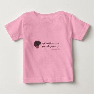 Camiseta Para Bebê yorkipoo