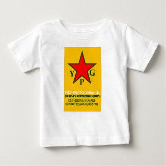 Camiseta Para Bebê ypg-ypj - kobani do apoio