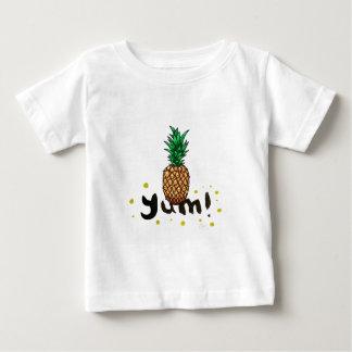 Camiseta Para Bebê yum_ananasli
