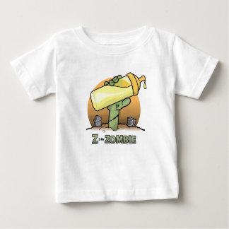 """Camiseta Para Bebê """"Z"""" é para o t-shirt infantil da """"garrafa"""" do"""