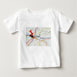 Camiseta Para Bebê Zaragoza, Aragon, espanha