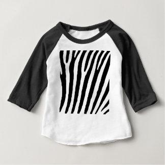 Camiseta Para Bebê zebra