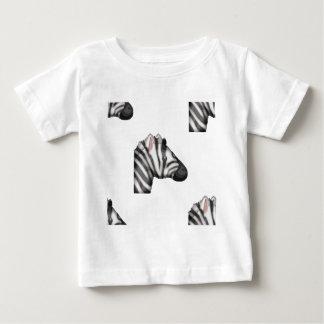 Camiseta Para Bebê zebra do emoji
