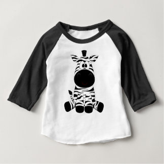 Camiseta Para Bebê Zebra Puppy