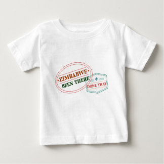 Camiseta Para Bebê Zimbabwe feito lá isso