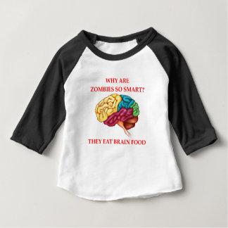 Camiseta Para Bebê zombis