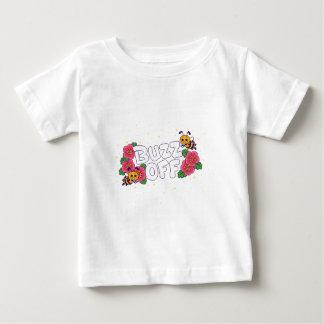 Camiseta Para Bebê Zumbido fora