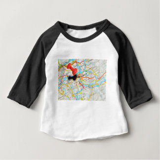 Camiseta Para Bebê Zürich, suiça