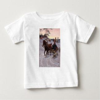 Camiseta Para Bebê Zygmunt_Ajdukiewicz_Polnische_Schlittenfahrt