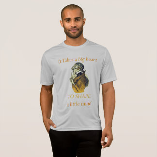 Camiseta PARA DAR FORMA a uma mente pequena