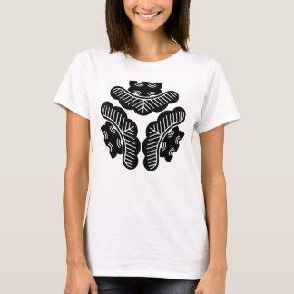 Camiseta Para dentro-revestimento de três pinhos