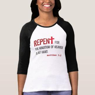 Camiseta para ELA (adulto): 3:2 de Matthew + 1:12 de John -