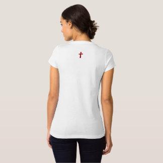 Camiseta para ELA (adulto): cruz