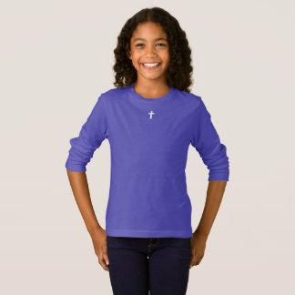 Camiseta para ELA (juventude): cruz