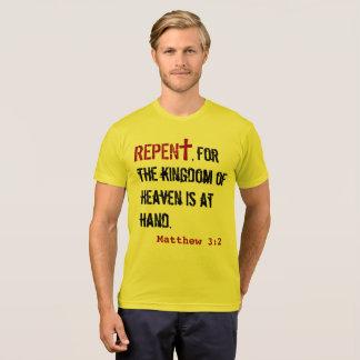 Camiseta para ELE (adulto): 3:2 de Matthew + Actua o 3:19