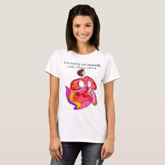 Camiseta Para eu sou… T temìvel e maravilhosamente feito