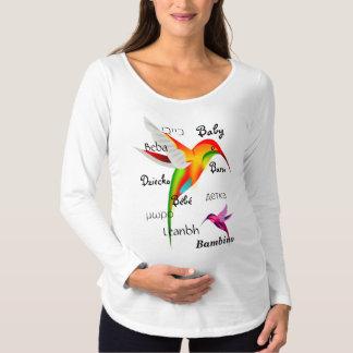 Camiseta Para Gestantes 10 maneiras de dizer o bebê