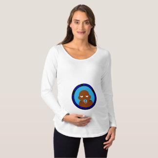 Camiseta Para Gestantes doente, bonito, engraçado, bebé