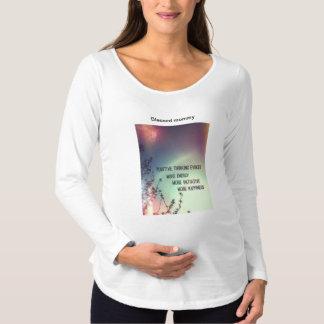 Camiseta Para Gestantes Inspirações dos DEUSES de Zazzle