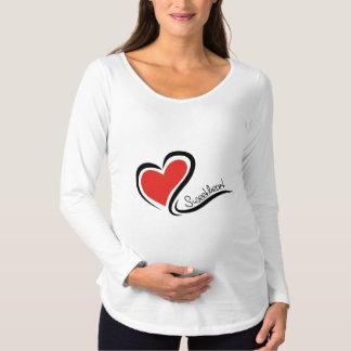 Camiseta Para Gestantes Meus namorados do querido
