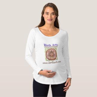 Camiseta Para Gestantes Parte superior de maternidade internacional das