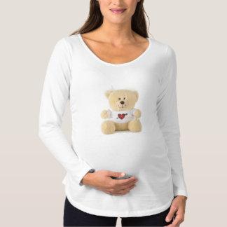Camiseta Para Gestantes Urso de ursinho