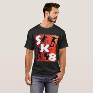 Camiseta Para o amor do t-shirt Skateboarding