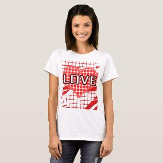 Camiseta para o dia dos namorados