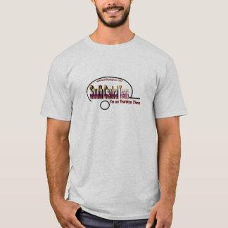 Camiseta Para o sul a central rasga homens